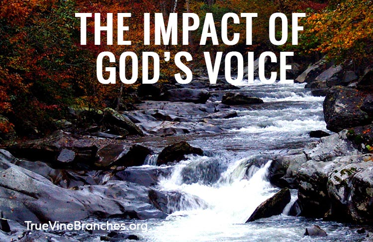 Impact of God's Voice on my life