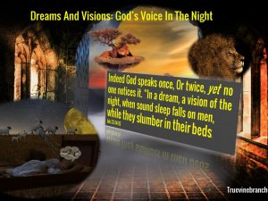 Dreams and visions: God's voice in the night