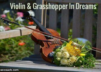 Children's Dreams:Violin and Grasshopper