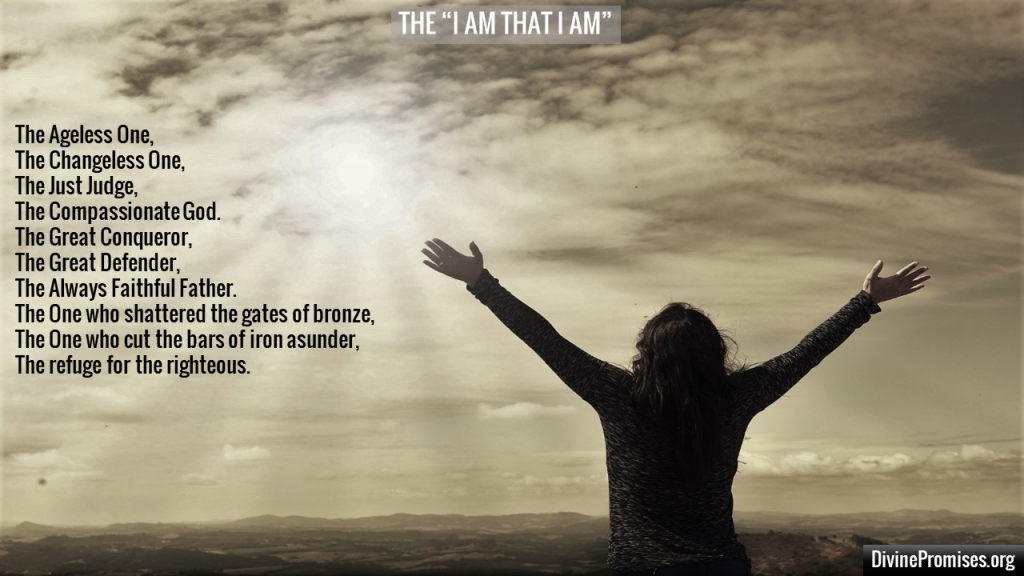 Our God the I AM THE I AM