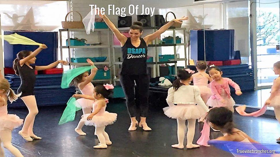 The flag of joy