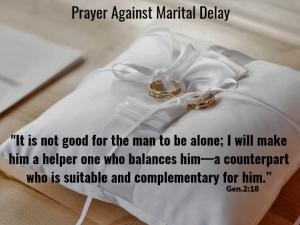 Prayer Against Marital Delay