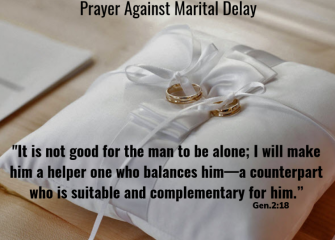Prayer Against Marital Delay