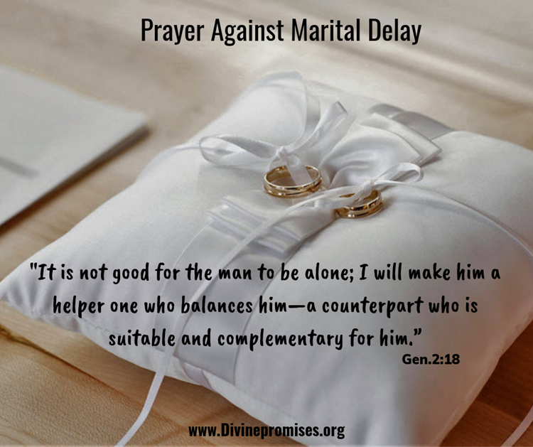 marital prayer in the courtroom of heaven