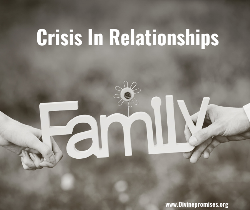 crisis in Family relationship